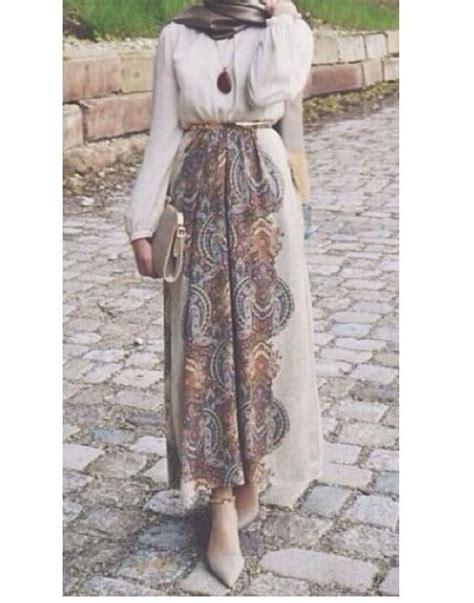 Dress Wanita Remaja 3 35 tren dress muslim remaja masa kini 2019 simple