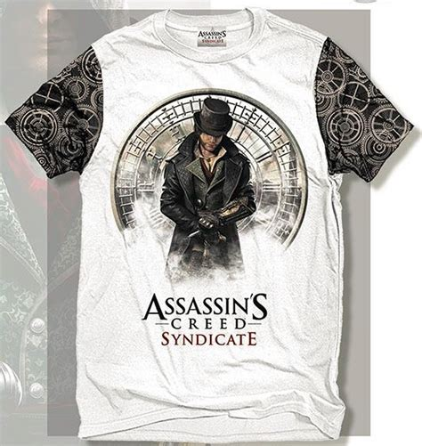 Assassin S Creed 4 T Shirt assassin s creed syndicate t shirts merchoid