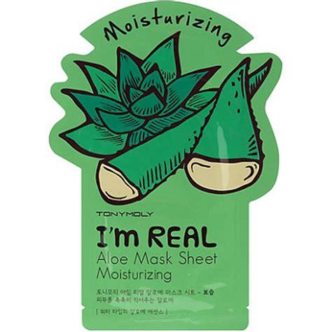 Masker Tony Moly I M Real i m real aloe mask sheet ulta