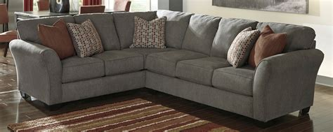 corner sectional couch buy ashley furniture 8680048 8680067 doralin steel laf