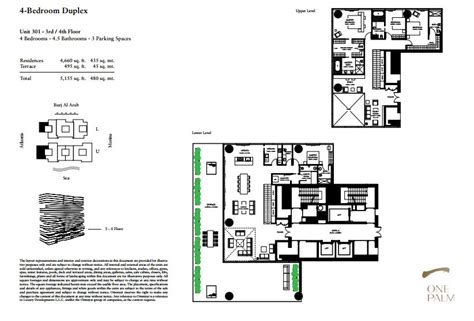 55 Harbour Square Floor Plans One At Palm Jumeirah Espace