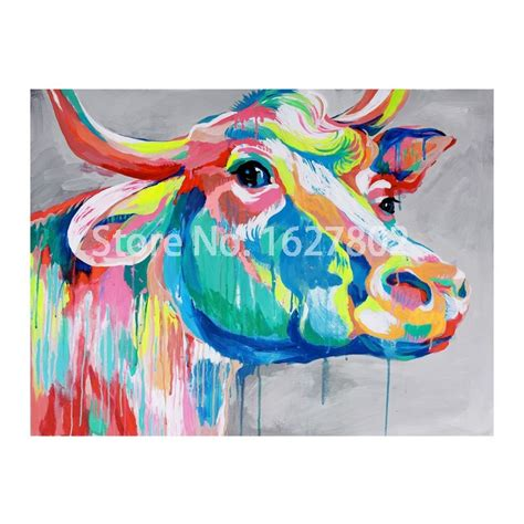 Home Design And Decor Wish App hand pained modern classic cartoon animal canvas oil