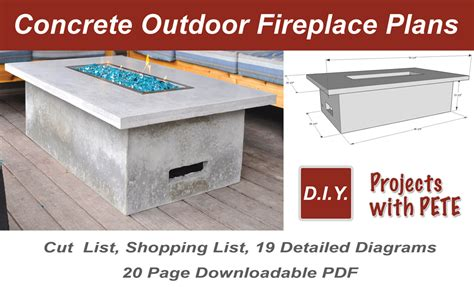 how to make outdoor fireplace how to make an outdoor gas fireplace with diy pete
