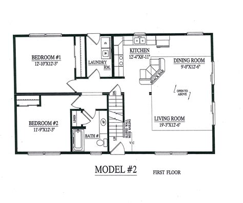 homes open floor plans open floor plan modular homes candresses interiors