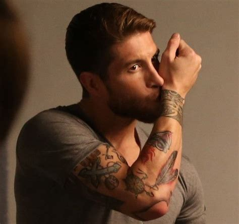 sergio ramos tattoo wrist sergio ramos arm tattoos you can see many modern symbols