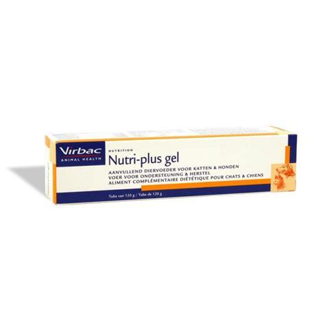 Virbac Nutri Plus Gel 130gr nutri plus gel compl 233 ment hyper 233 nerg 233 tique pour chien