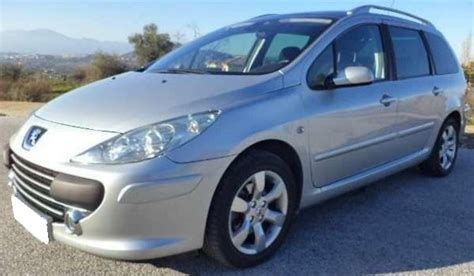 peugeot estate cars for sale 2008 peugeot 307 sw 1 6 hdi 7 seater estate cars for