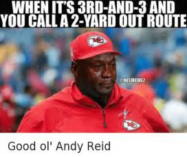 Andy Reid Meme - funny michael jordan crying nfl and nfl playoffs memes