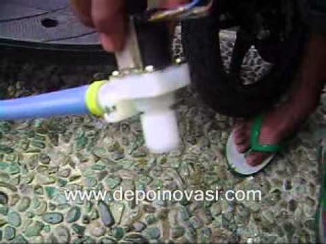 Stop Kran Elektrik pengujian kran solenoid valve elektrik depoinovasi