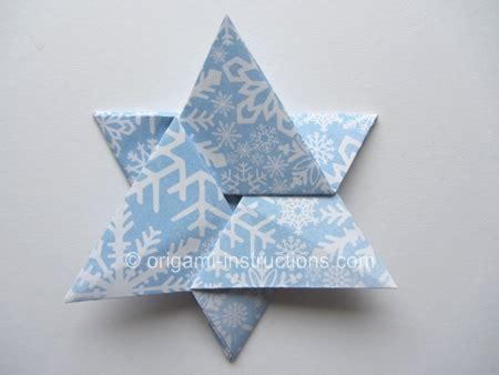 How To Make An Origami Of David - http www origami easy origami of