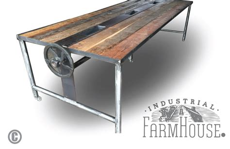 Rustic Conference Table Rustic Barnwood Conference Dining Table The Industrial Farmhouse