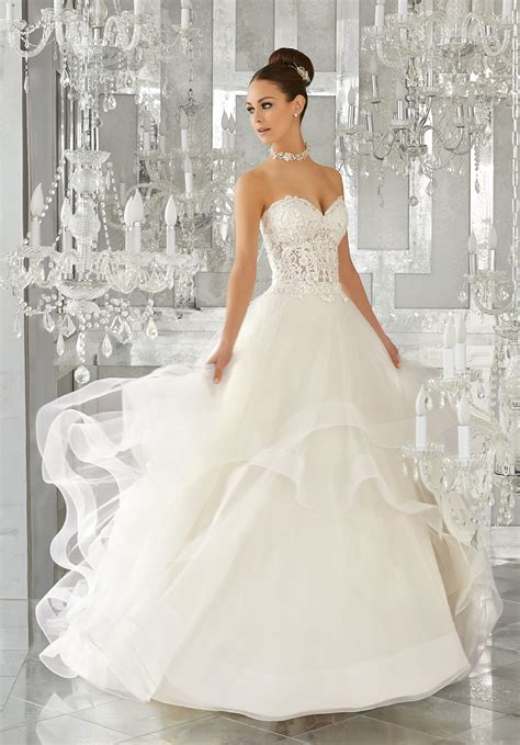 weddingku bridal wedding dress style 5570 morilee