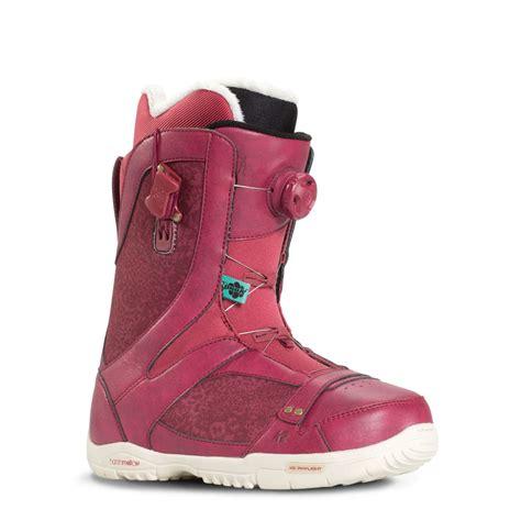 k2 sapera womens snowboard boots 2016 burgundy
