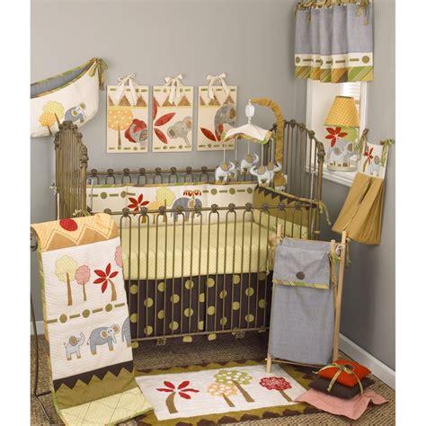 Overstock Crib Bedding by Cotton Tale Elephant Brigade 8 Crib Bedding Set
