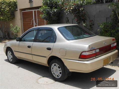Toyota Corolla 1998 For Sale Used Toyota Corolla Gl Saloon 1998 Car For Sale In Karachi