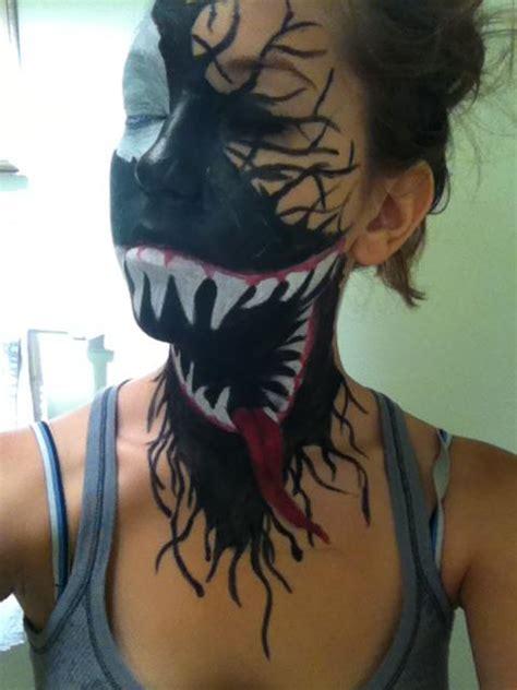 spray paint faces rusted mecha venom paint