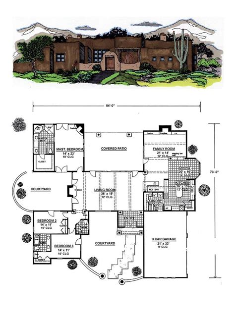 santa fe house plans 17 best images about santa fe house plans on front courtyard house plans and square