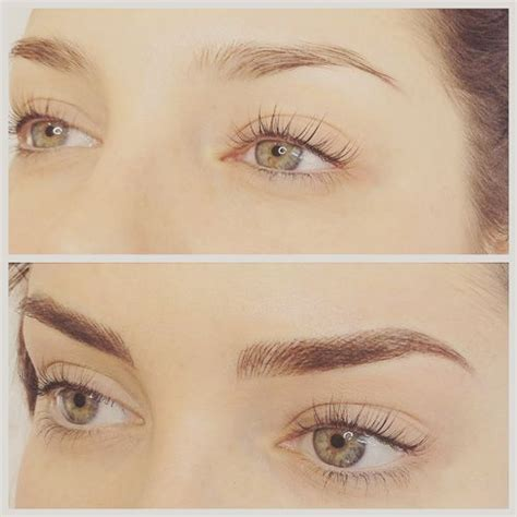 feather eyebrow tattoo best 25 tattooed eyebrows ideas on eyebrow