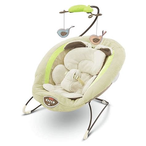 fisher price swing bouncer my little snugabunny deluxe bouncer