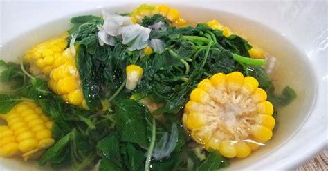cara membuat capcay jagung muda resep dan cara membuat sayur bening bayam dan jagung
