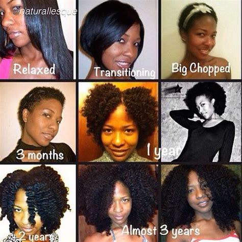 natural hair length stages 10 inspirational photos of amazing natural hair journeys