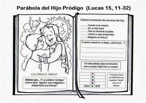 libro en pdf dios prodigo la catequesis el blog de sandra recursos catequesis 24 186 domingo tiempo ordinario ciclo c