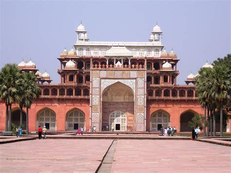 Akbar's tomb, Sikandra   Akbar's tomb situated in Sikandra