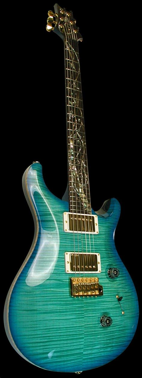 Gitar Prs 156 prs custom 24 tree of makena blue guitars bass