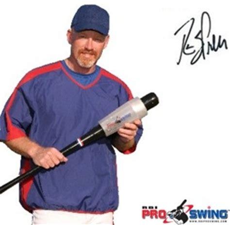 baseball swing training aids rbi pro swing baseball training aid hittingworld com
