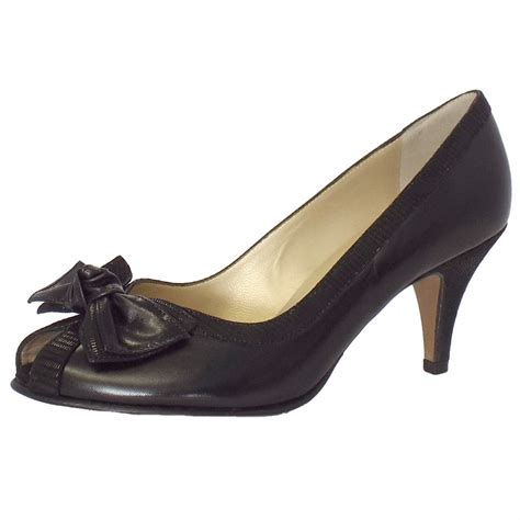 Peep Toe Shoes by Kaiser Satyr Peep Toe Evening Shoes In