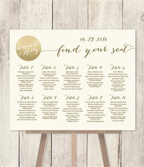 wedding font for seating chart wedding seating chart sign gold sparkle wedding sign