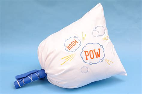 Doiy Pillow Fight by Diy Pillow Fight Handmade