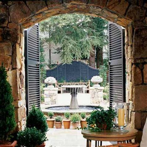 gorgeous interior courtyards