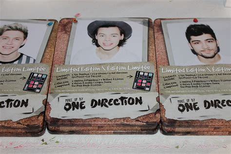 Make Up One Direction one direction s make up line limited edition