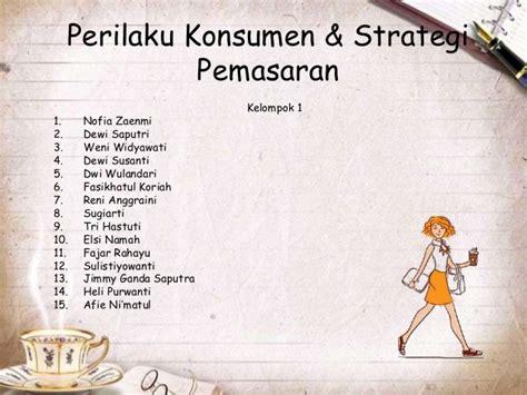 Perilaku Konsumen Dan Strategi Pemasaran 2 Edisi9 perilaku konsumen strategi pemasaran j co coffee and