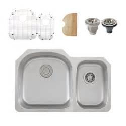 Kitchen Sink Accessories Ticor S105d Undermount Stainless Steel Bowl Kitchen Sink Accessories