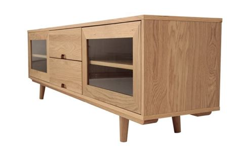 oak tv bench retro designer tv bench in oak sodezign co uk sodezign com