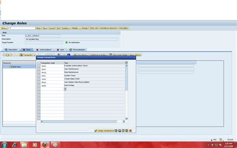 sap user tutorial sap security tutorial single role creation using pfcg in