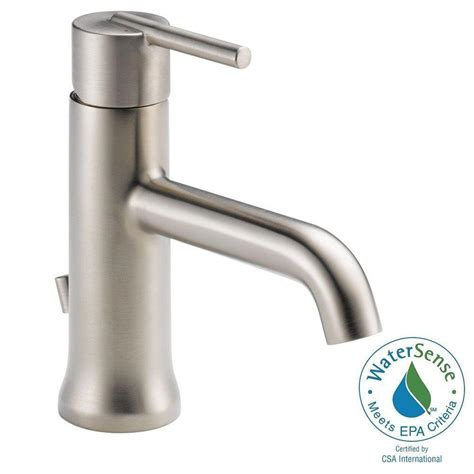 Delta Trinsic Bathroom Faucet by Delta Trinsic Single Single Handle Bathroom Faucet