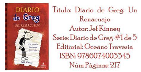 descargar pdf diario de greg un renacuajo diary of a wimpy kid libro tyul files el diario de greg un renacuajo pdf