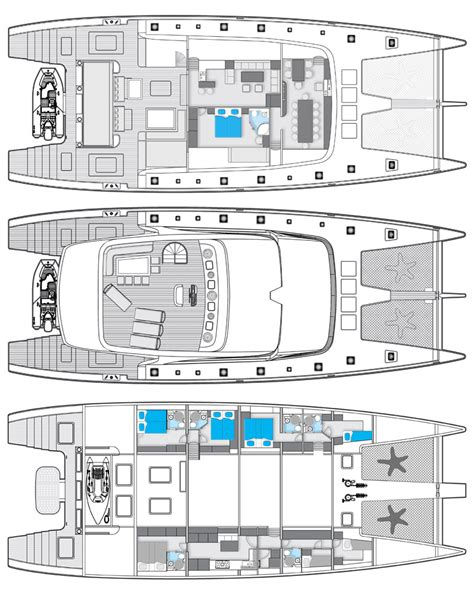 catamaran layout plans sunreef 102 catamaran ipharra layout yacht charter