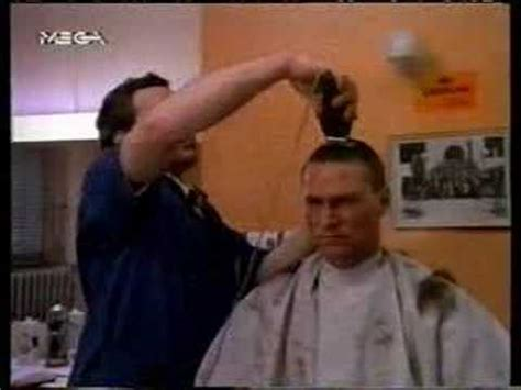 Police Academy Haircut | police academy the haircut youtube
