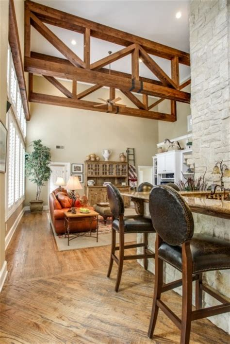 rustic wood ceiling beams rustic wood ceiling beams traditional family room