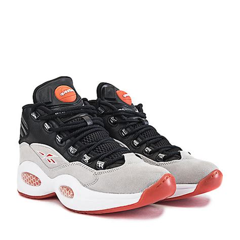 reebok question basketball shoes s athletic basketball shoe question grey shiekh