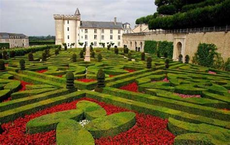 imagenes de jardines impresionantes el castillo de villandry y sus hermosos jardines