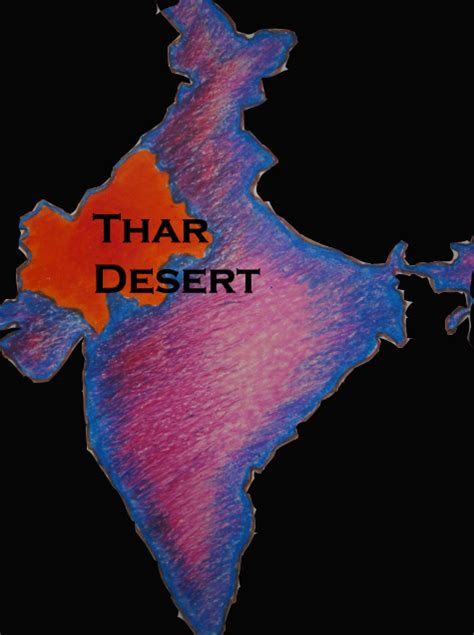 thar desert location gallery for gt where is the thar desert on a map