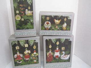 grande living 12 days of christmas quot ornament coaster set quot plastic canvas pattern