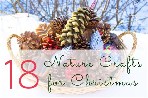 nature crafts for christmas
