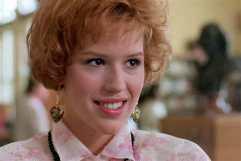 pretty in pink molly ringwald almost lost pretty in pink to