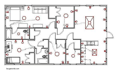 house electrical diagram symbols wiring diagram